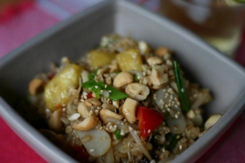 Sri Wasano's rice salad