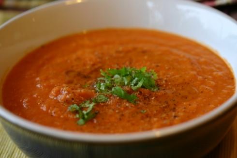 Butterbean tomato soup