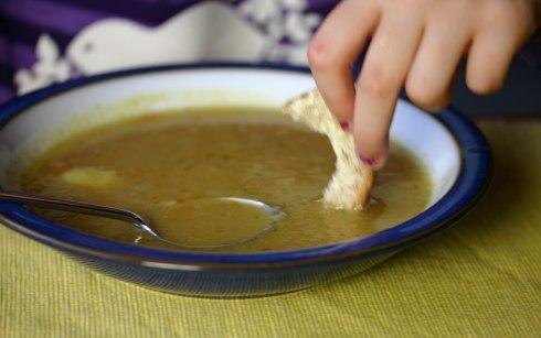 Polish vegetable soup