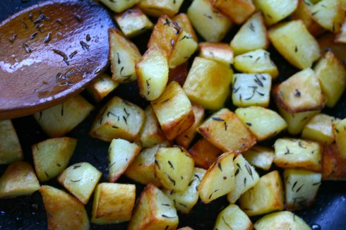 sautéed potatoes