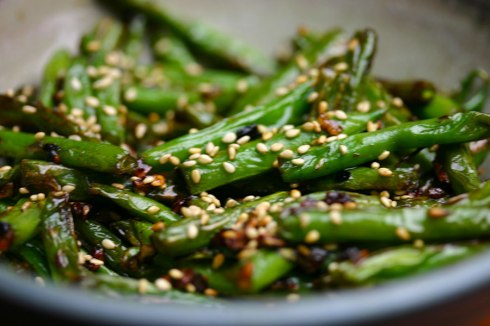 Hong Kong green beans