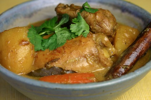Vietnamese chicken curry (cari ga)