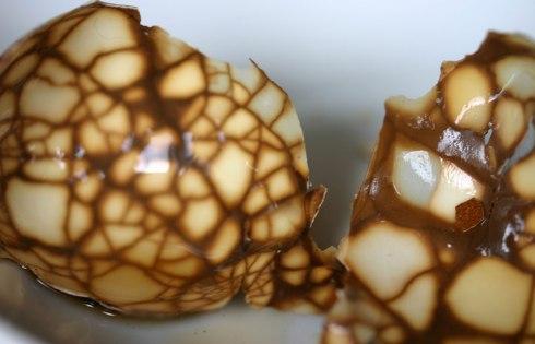 Tea egg shells