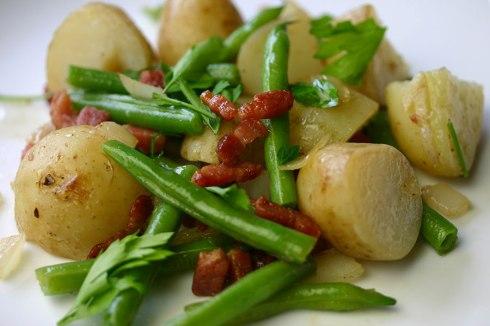 Salade liègeoise