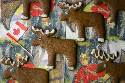 Pepparkakor (Swedish ginger biscuits)