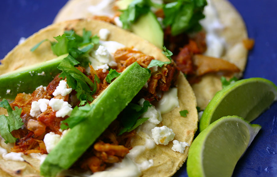 Chicken tinga tacos – fun to say, fun to eat… And a great leftover ...