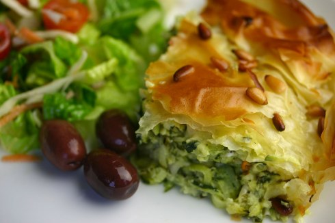 Kolokithopita (Greek courgette pie)