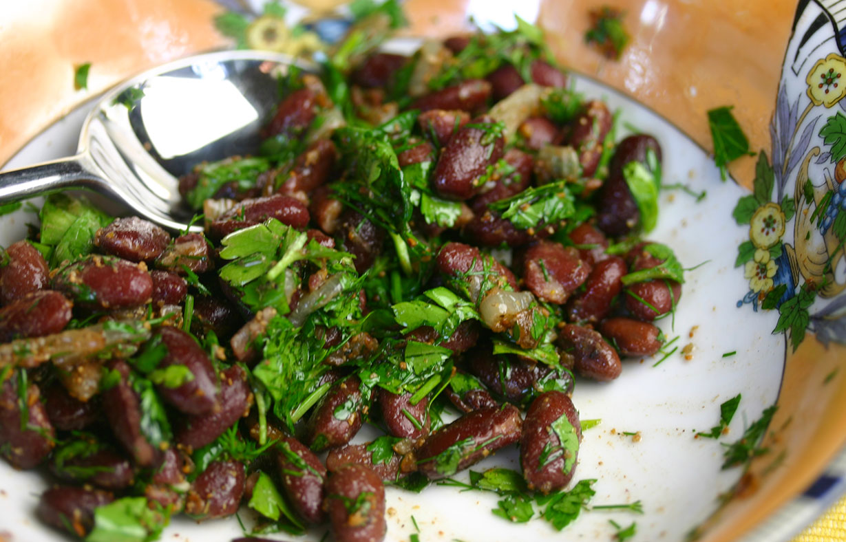 Red Bean Lobio is an unusual dish for every day 83