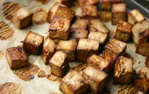 Roasted tofu