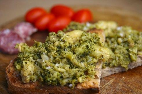 confit broccoli