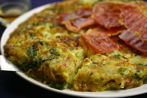 trinxat (Andorran cabbage and potato cake)