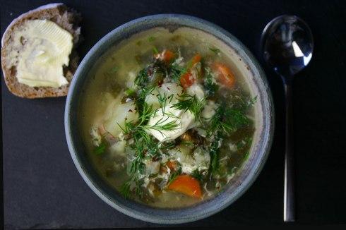 green borscht